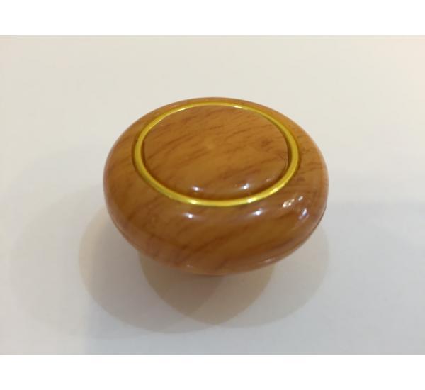 Ручка мебельная кнопка с кольцом 603
