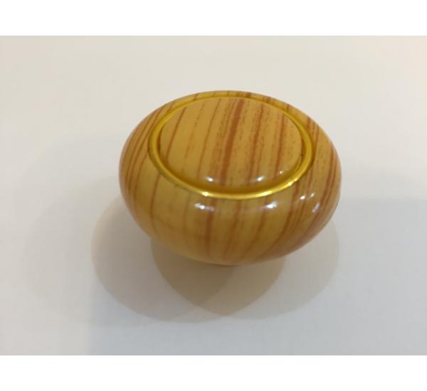 Ручка мебельная кнопка с кольцом 601