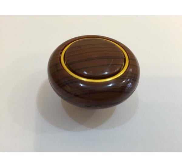 Ручка мебельная кнопка с кольцом 602