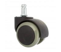 Ролик колесо для офисных кресел со штифтом Ø 50мм купить оптом
