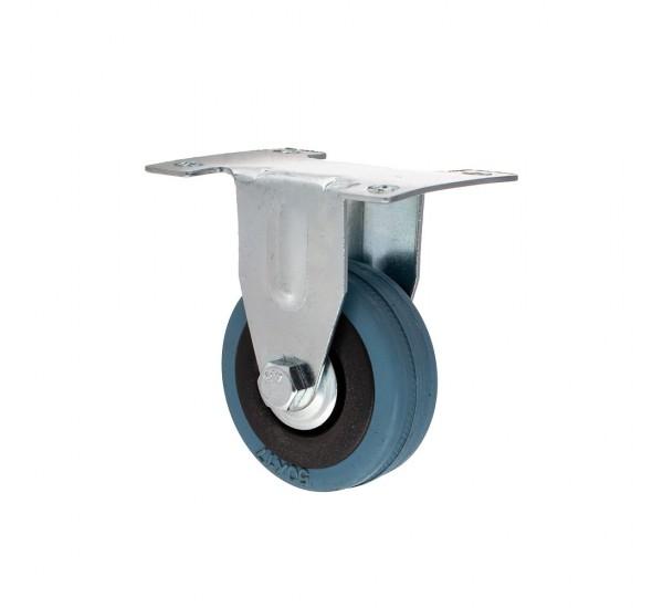 Ролик резиновый не поворотный Ø50мм
