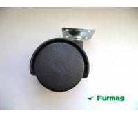 Ролик мебельный с площадкой Ø40 мм (3019) купить оптом