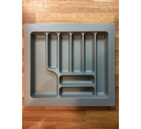 Пенал для посуды серый 800 Starax