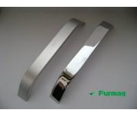 Ручка мебельная алюминиевая 160мм (1130) купить оптом