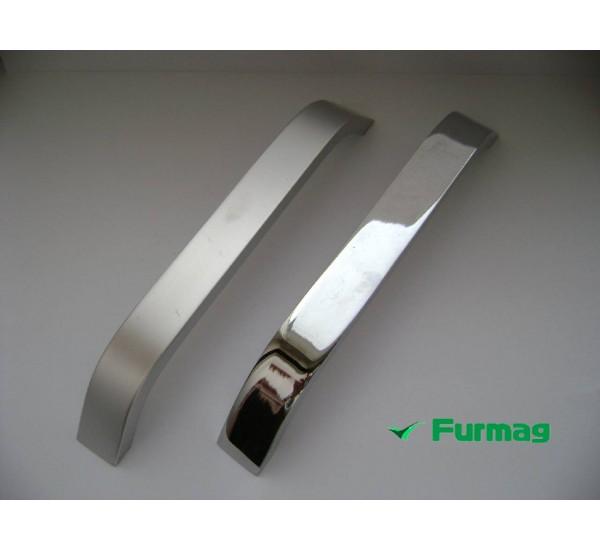 Ручка мебельная алюминиевая 160мм (1130)