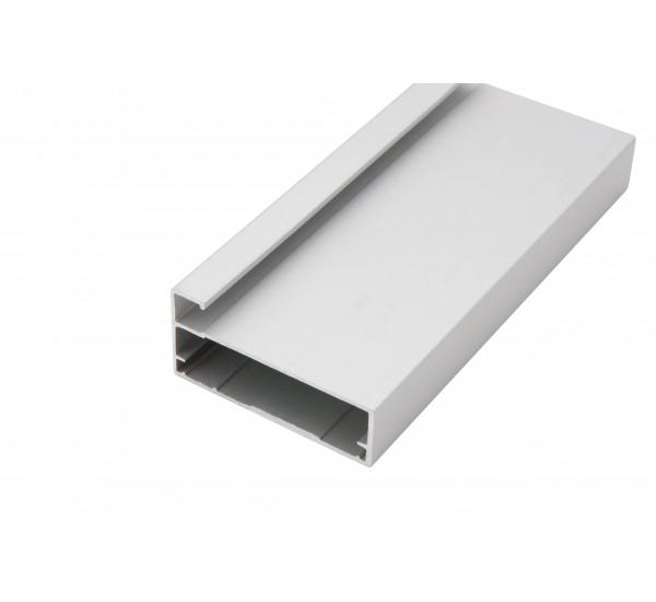 Рамочный профиль алюминиевый 43/09/3000 (полуобхват)