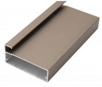 Рамочный профиль алюминиевый 43/09/3000 (полуобхват) купить оптом
