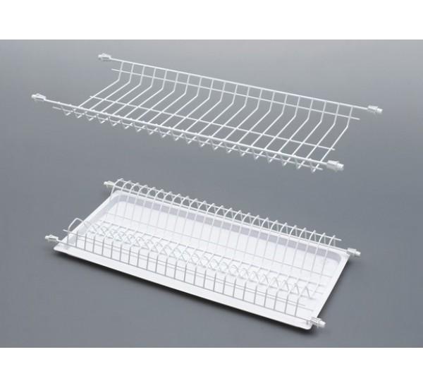 Сушка для посуды L= 450 белая Rejs