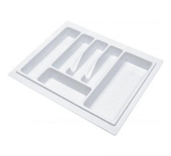 Пенал для посуды UNI белый 600 Rejs (лоток для столовых приборов)