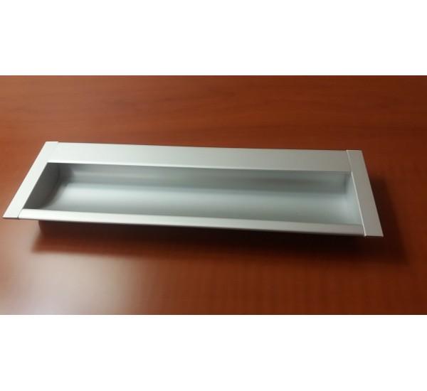 Ручка мебельная врезная К8152/8141 алюминиевая