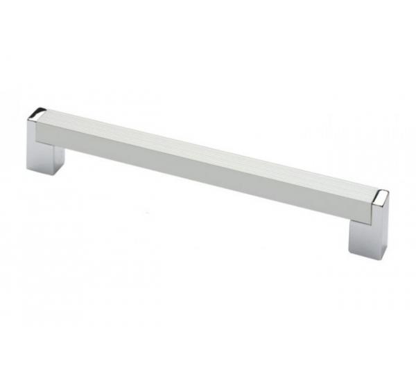 Ручка мебельная 192мм AL/PC 1132(14.245)